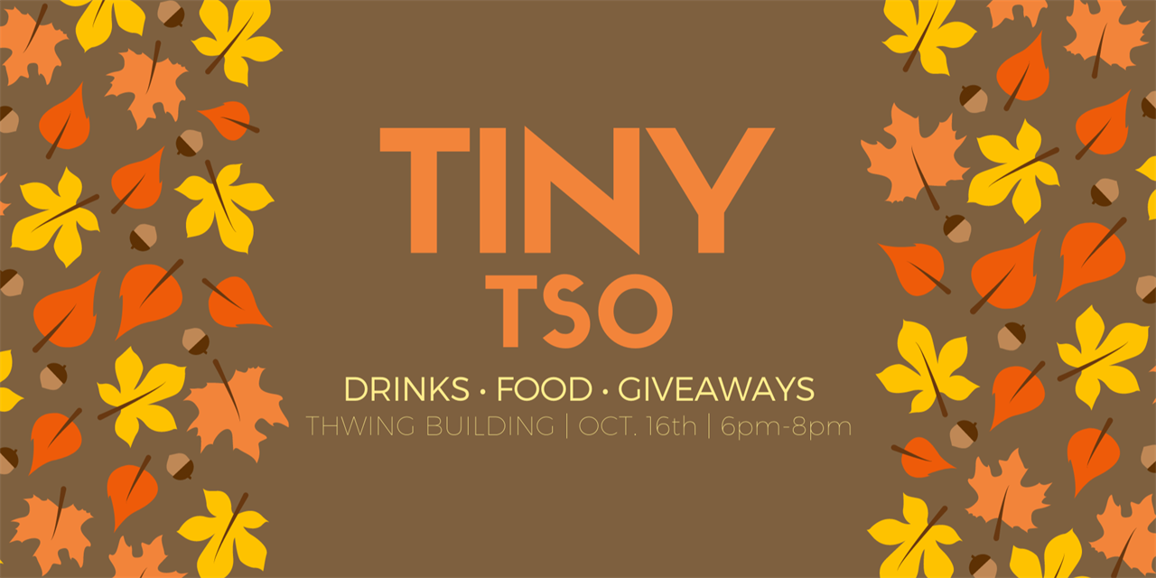 Tiny TSO Event Logo