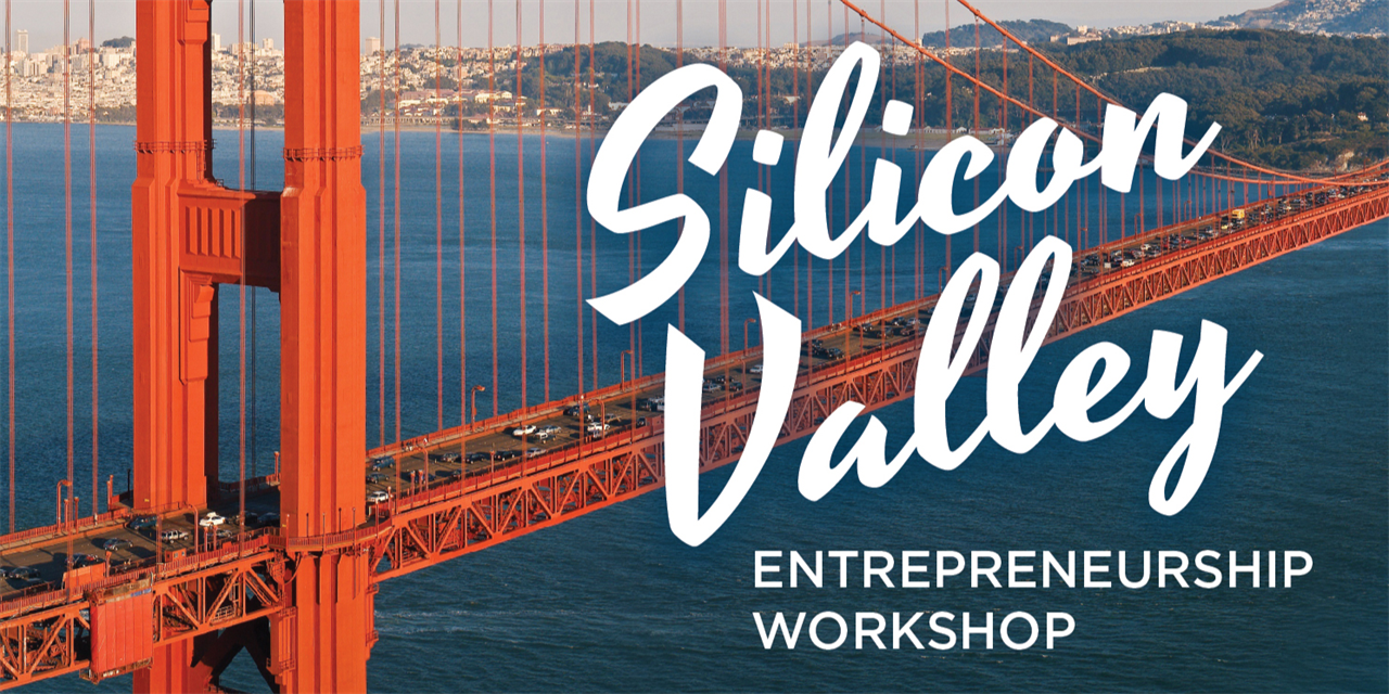 Silicon Valley Entrepreneurship Workshop | Application Due Sept. 30, 2019 Event Logo