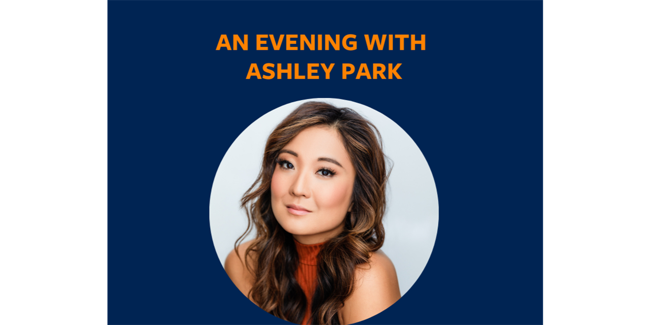 An Evening with Ashley Park Event Logo