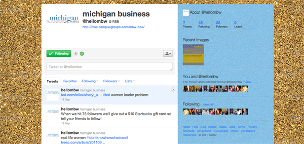 Michigan Business Women - BBA