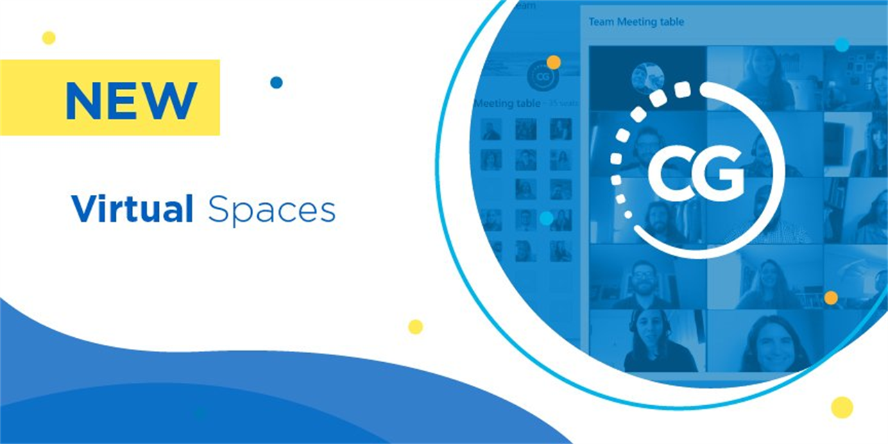 Introducing Virtual Spaces (CampusGroups New Product Launches) Event Logo