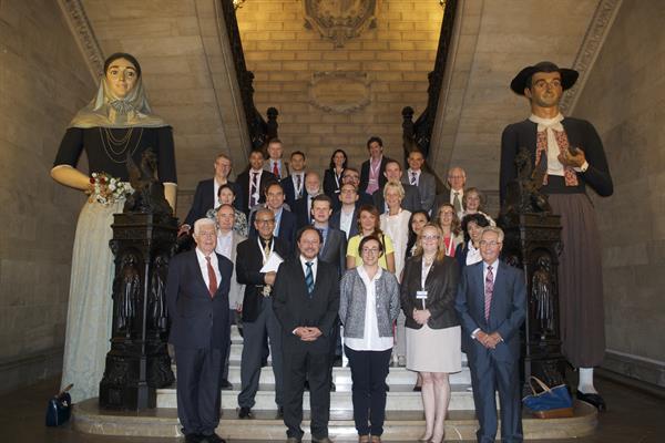 AMFORHT Board 2015 - welcome ceremony by the Mayor of Palma de Mallorca