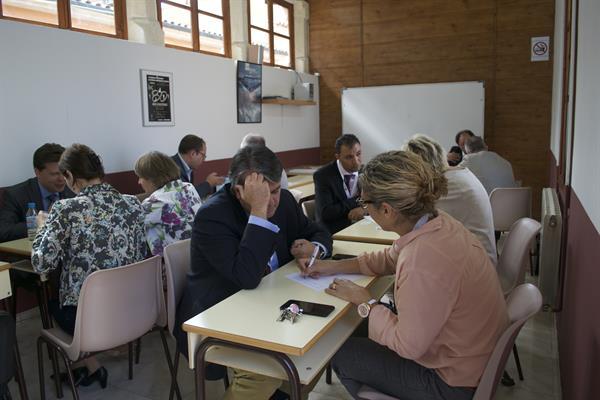 AMFORHT Board 2015 - speed networking session