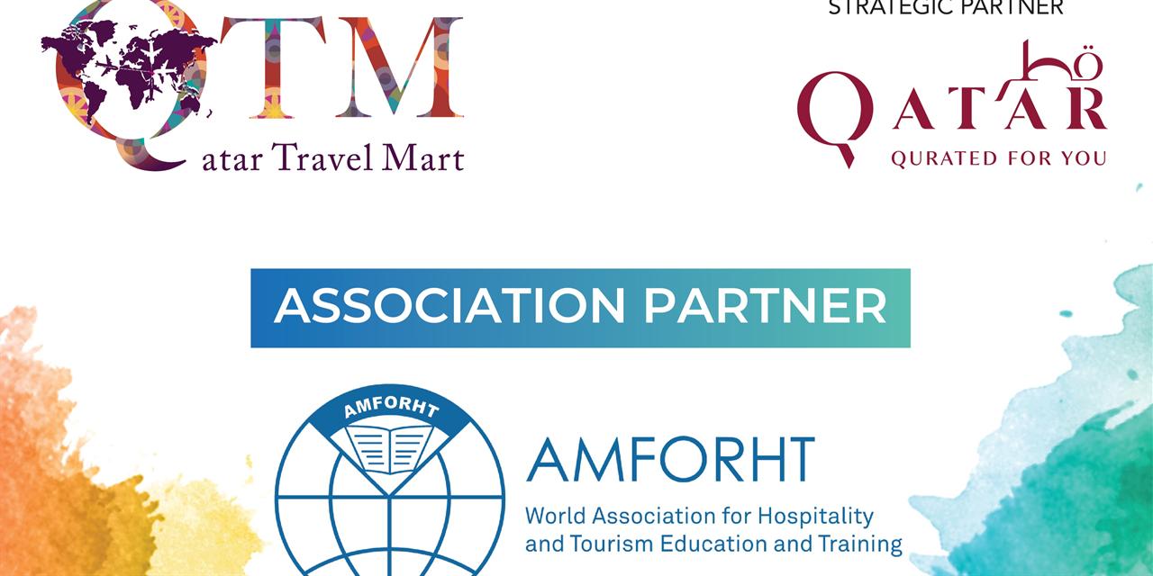 QATAR TRAVEL MART 2021 Event Logo
