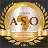 African Student Organization's logo