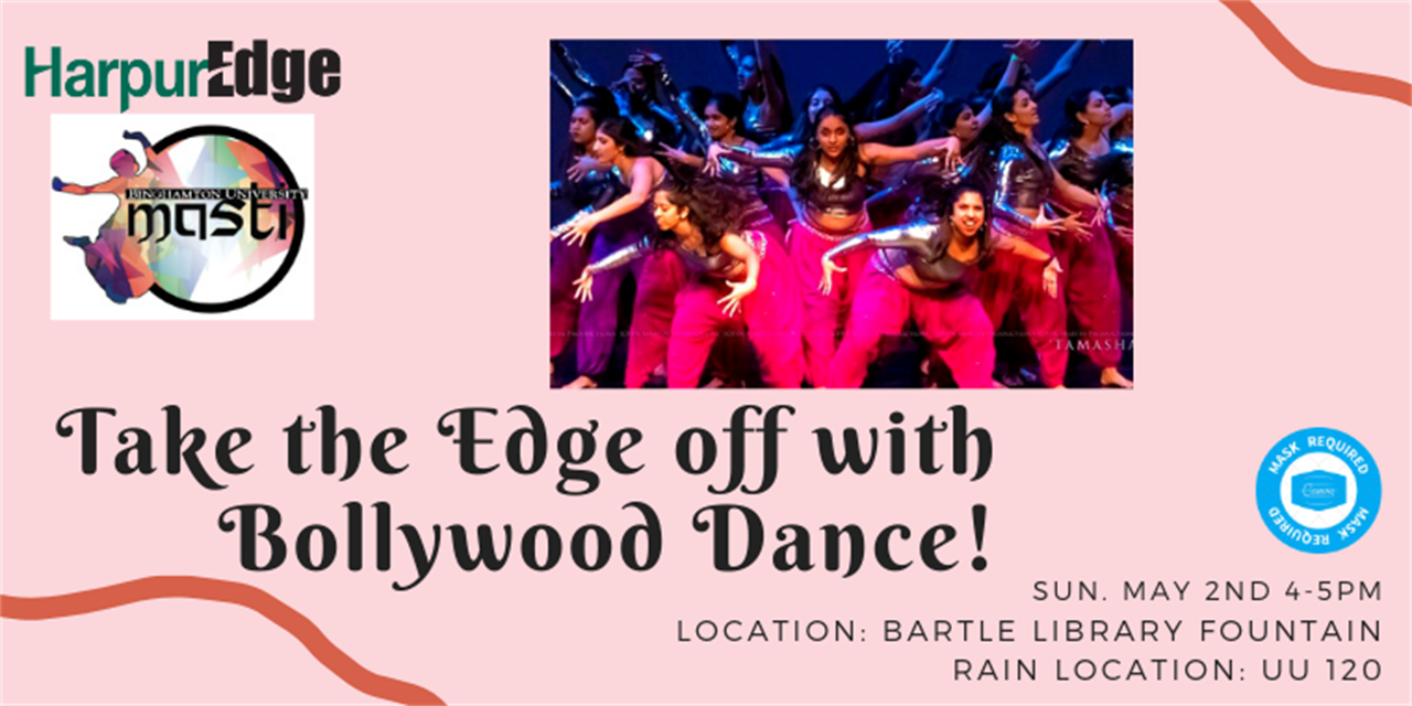 Take the Edge off with Bollywood Dance- in person Event Logo