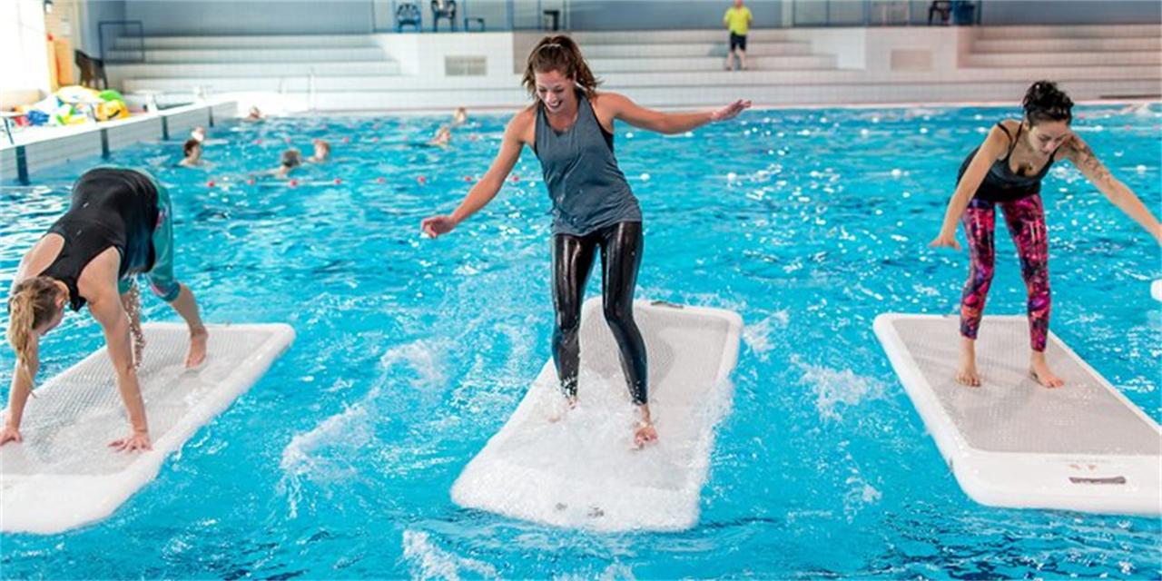 FloatFit with Campus Recreation Event Logo