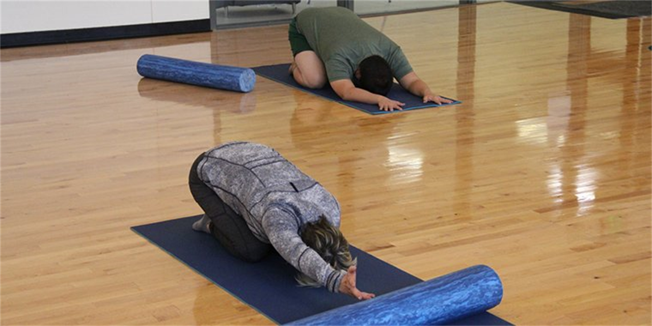 Restorative Yoga with Campus Recreation Event Logo