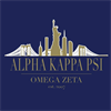 Alpha Kappa Psi Co-Ed Fraternity's logo
