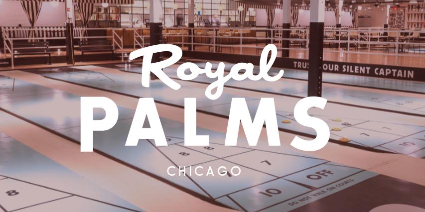 Royal Palms - Student & Alumni Mixer Event Logo