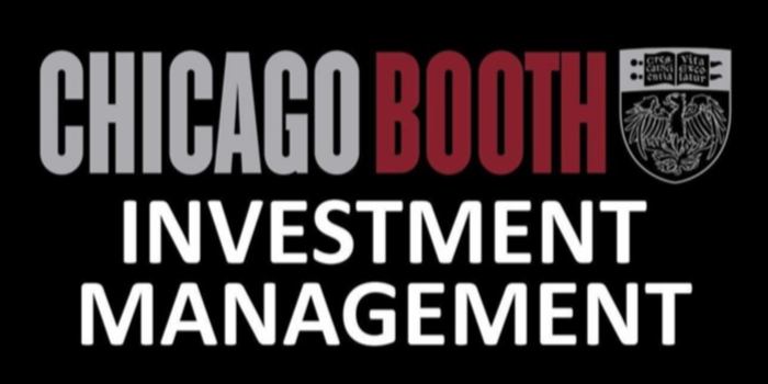 Chicago Booth Investment Competition & Conference Event Logo