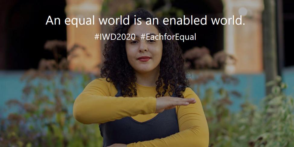 International Women's Day Event Logo