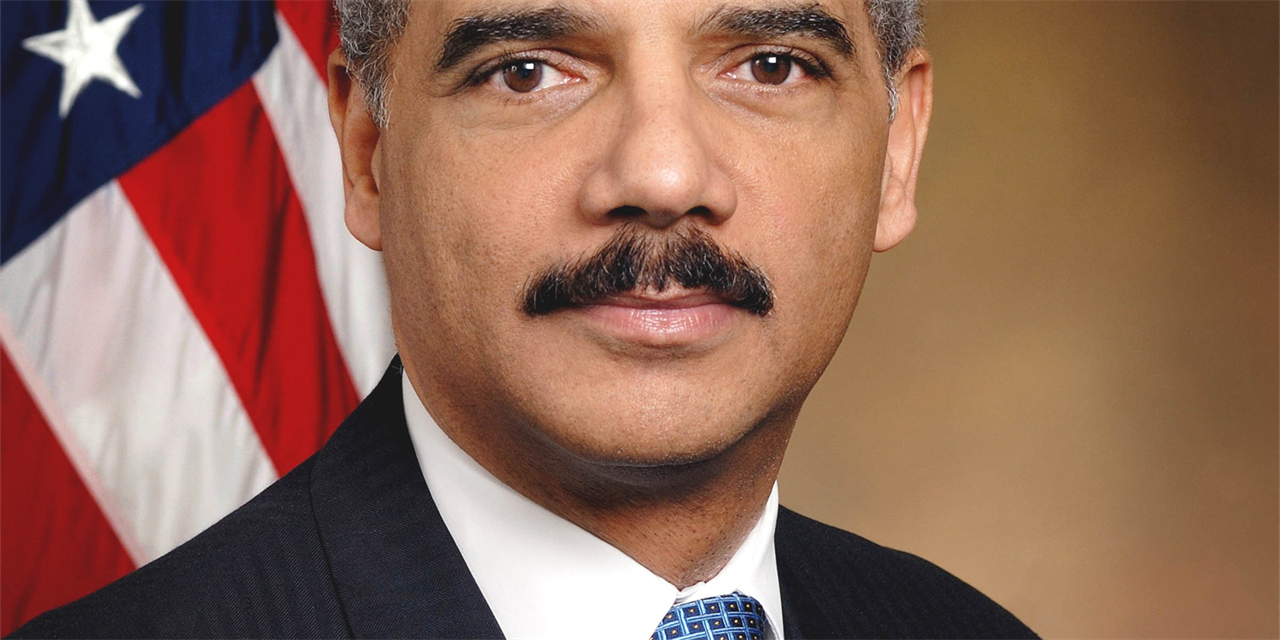 A Discussion with Eric Holder, US attorney general in the Obama Administration