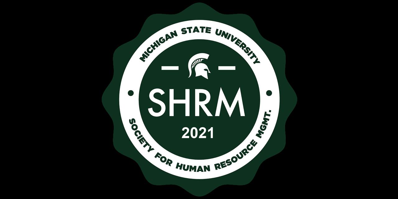 Michigan State University 2021 Virtual SHRM Conference Event Logo