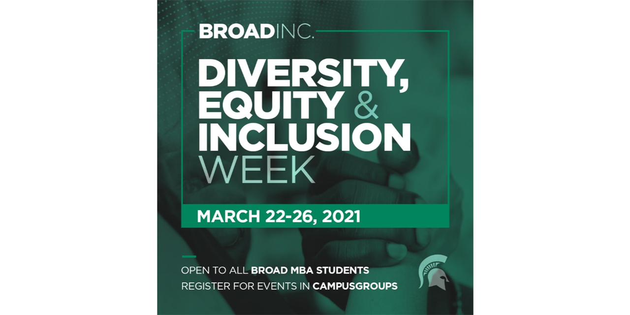 Broad Inc. Diversity, Equity and Inclusion Week Event Logo