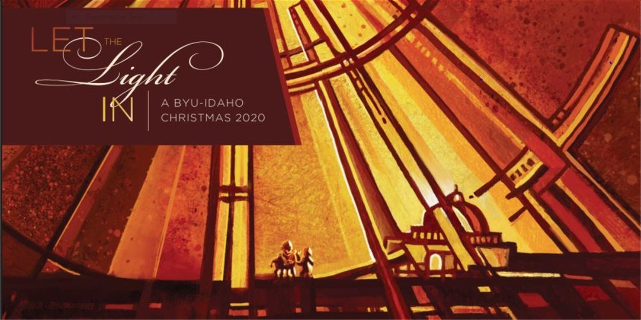 A BYU-Idaho Christmas Event Logo