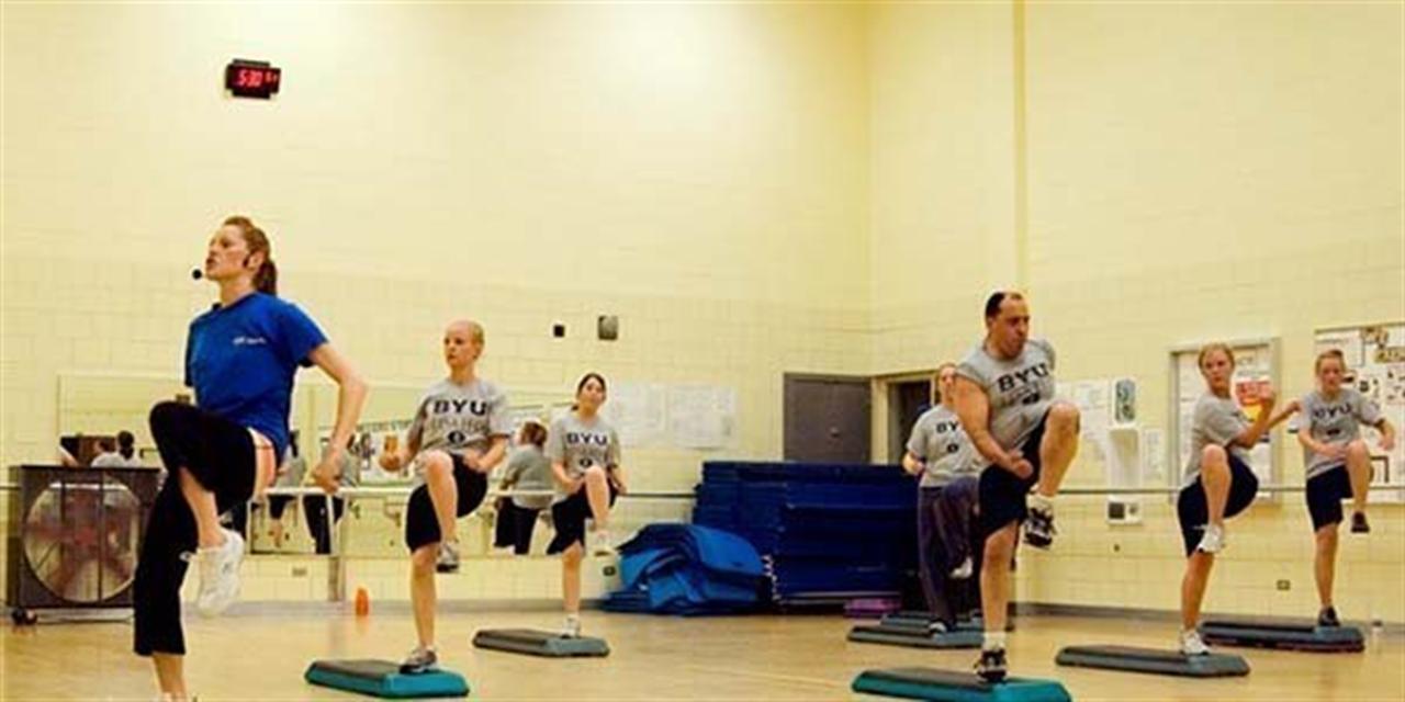 Employee Fitness Class Event Logo