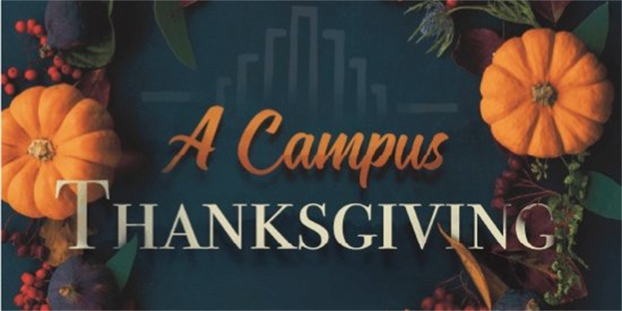 A Campus Thanksgiving Event Logo