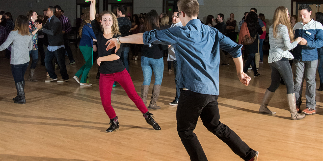Latin Dancing Event Logo