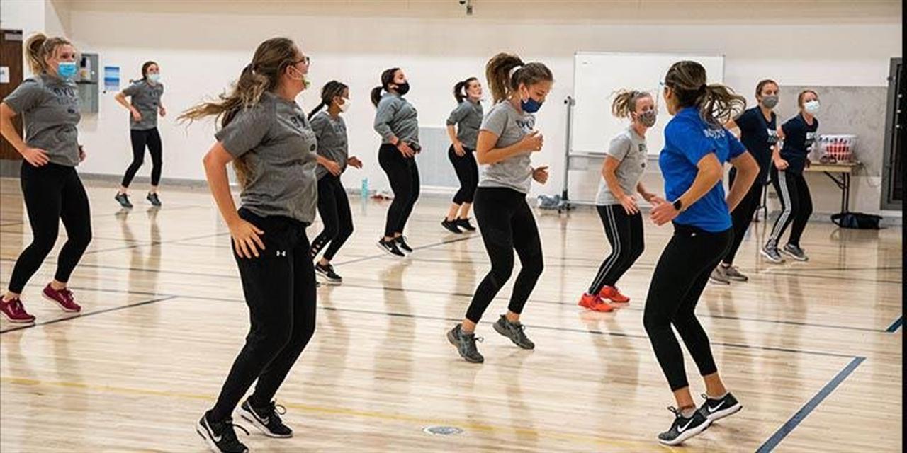 Fitness Class: Aerobics Event Logo