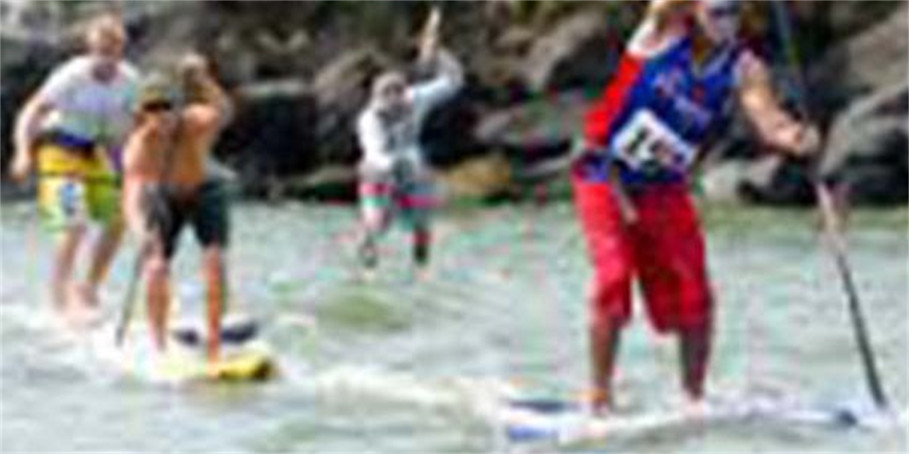 Stand up Paddle Boarding Event Logo