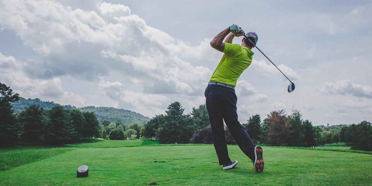 Golf Tournament Event Logo