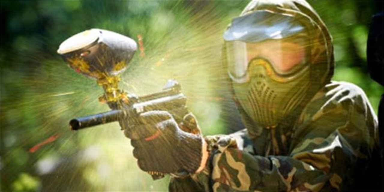 Paintball Event Logo