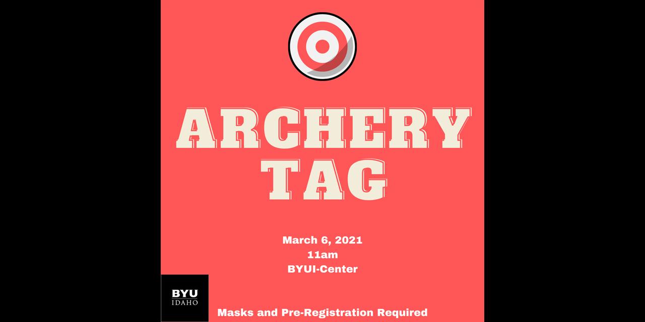 Archery Tag Event Logo