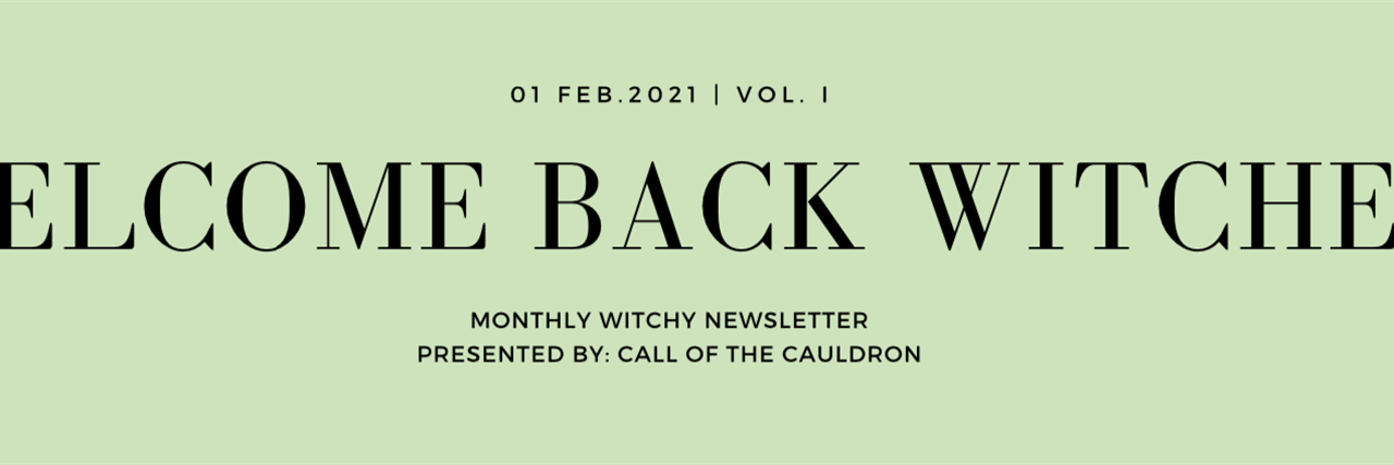 VOL. 1 IMBOLC News Article Banner
