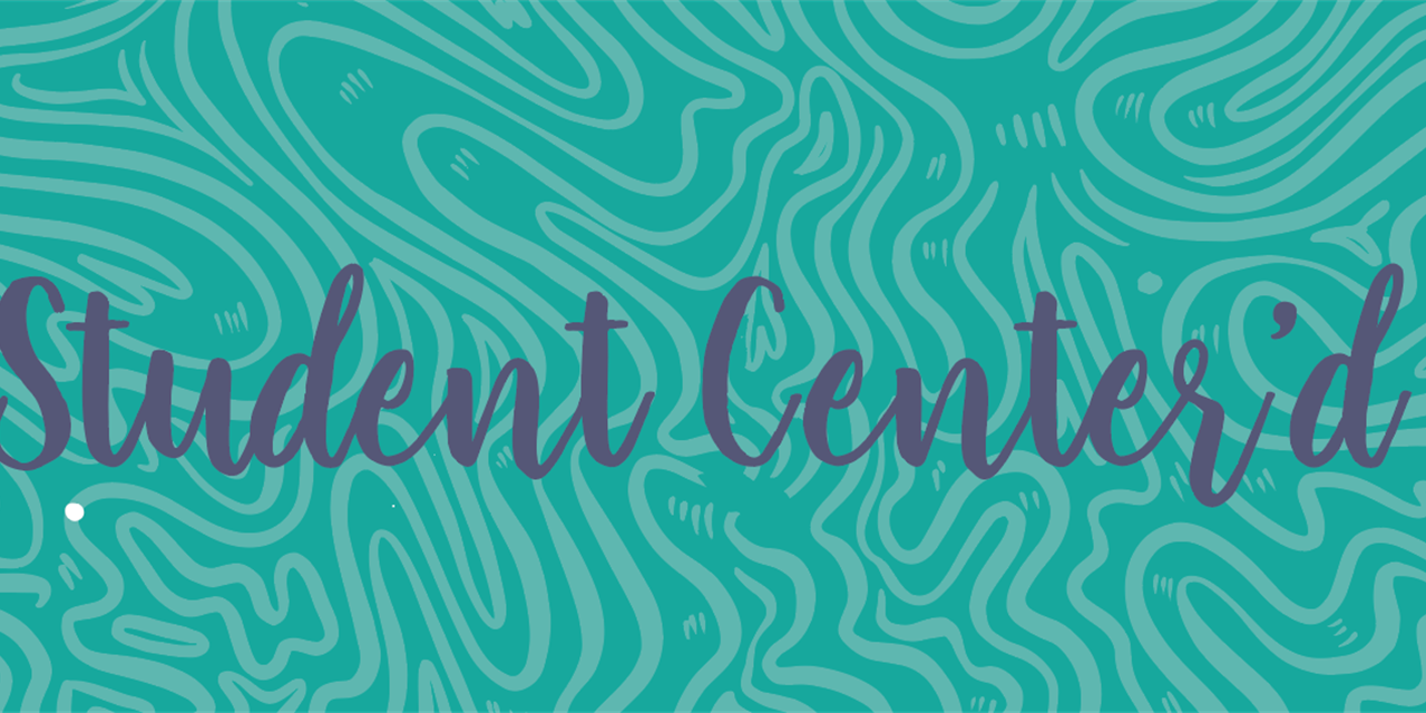 Student Center'd Saturday Event Logo