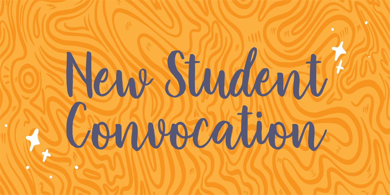 New Student Convocation Event Logo