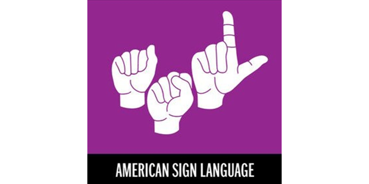 Connections: American Sign Language Event Logo