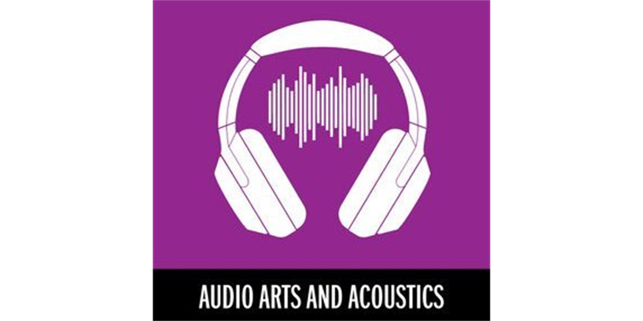 Connections: Audio Arts and Acoustics Event Logo