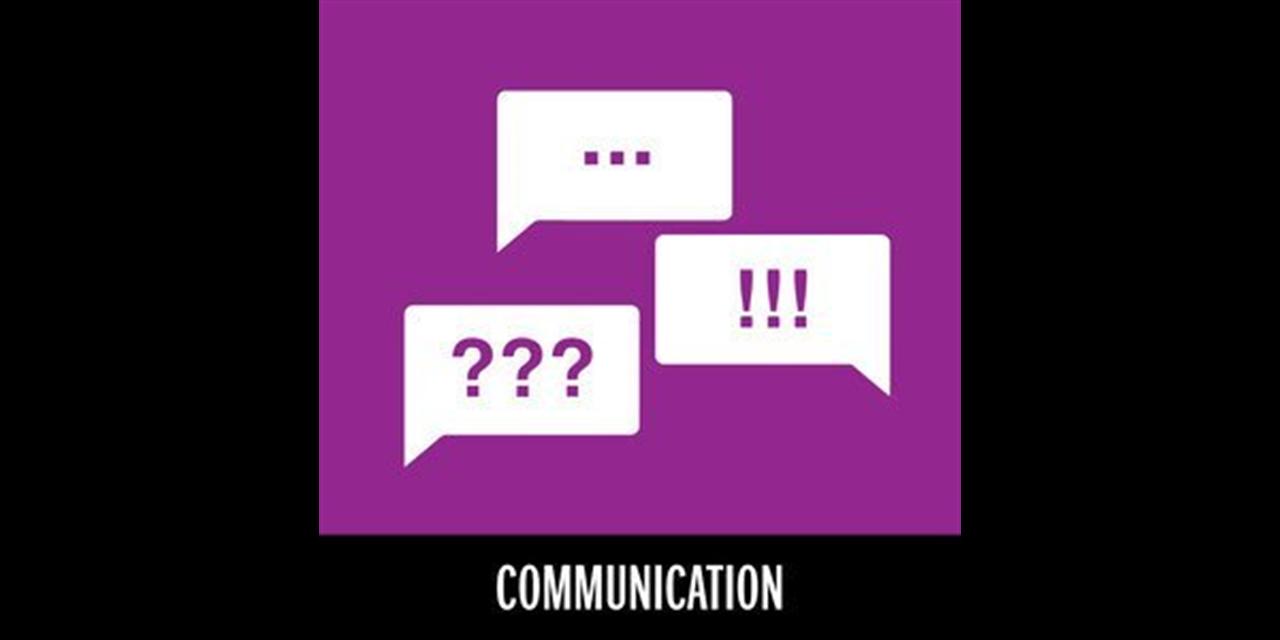 Connections: Communication Event Logo