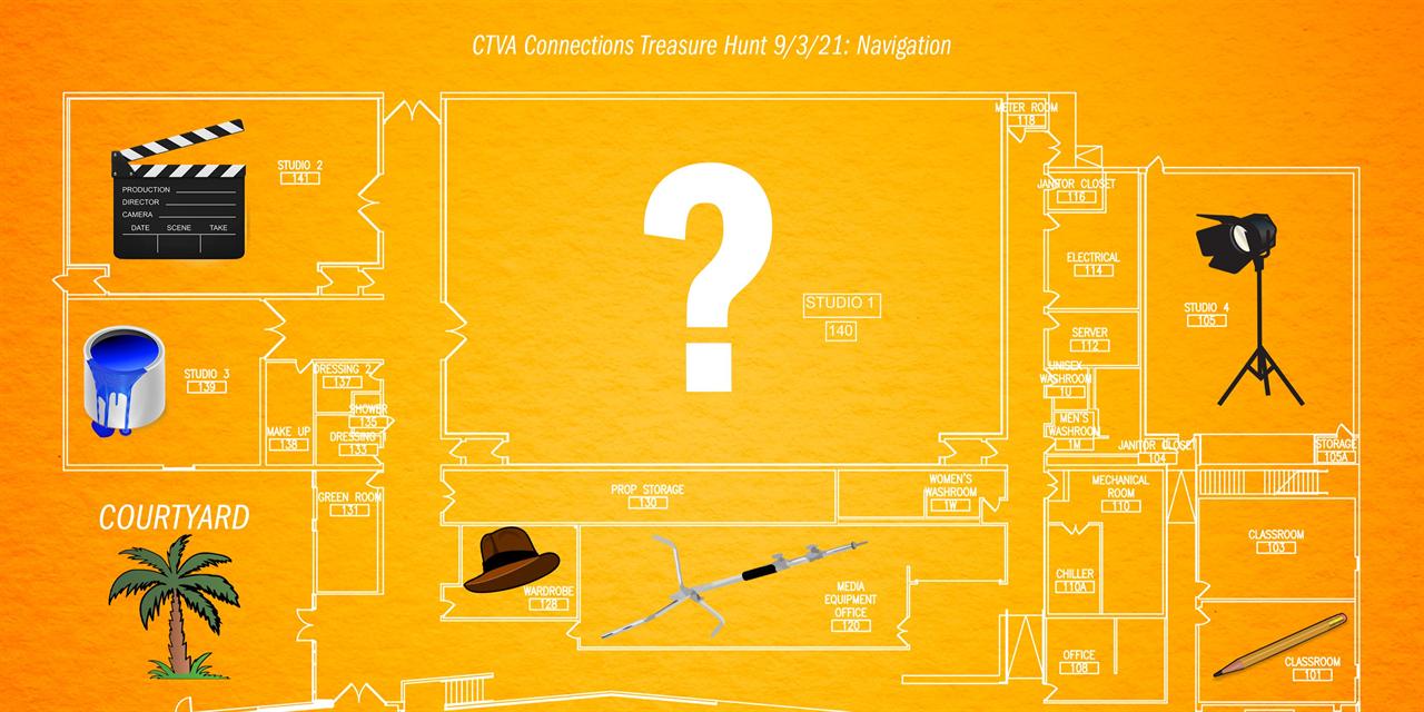 CTVA Connections: Treasure Hunt Event Logo