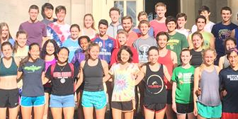 Running Club, Cornell Group Banner
