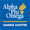 Alpha Phi Omega - Gamma Chapter's logo