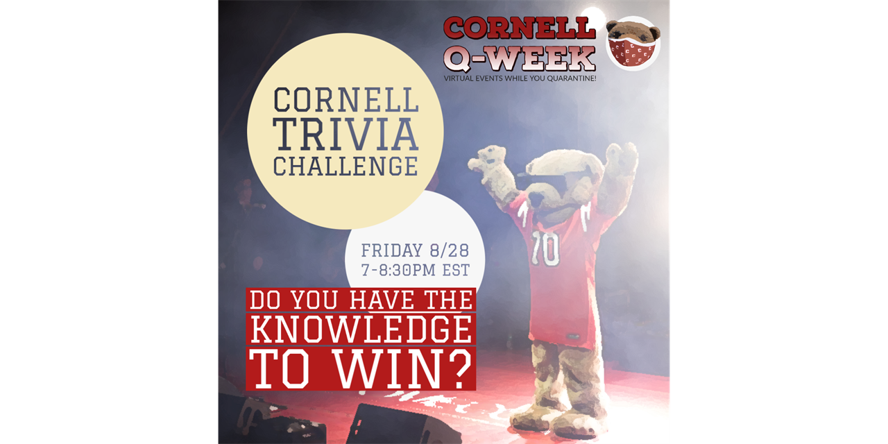 Q Week: Cornell Trivia with Corey Earle
