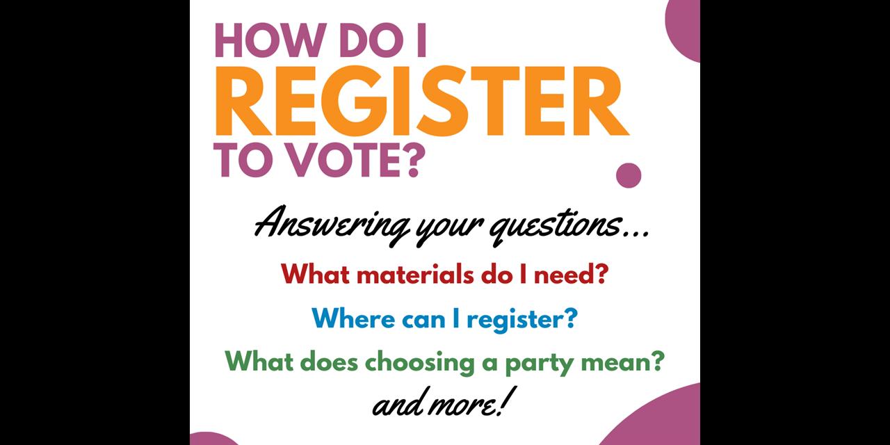 Q Week: Navigating Student Voting: Voter Registration