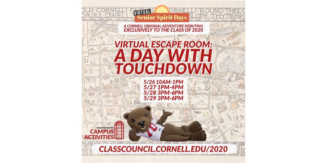 Cornell Virtual Escape Room! *FULL! Registration closed* Event Logo