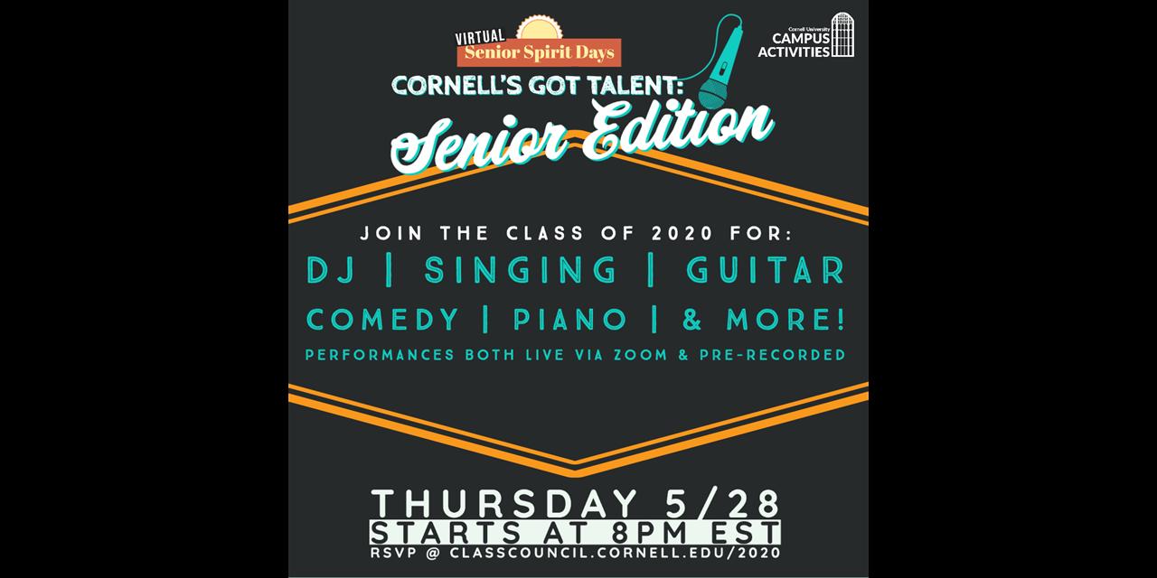 Cornell's Got Talent: Senior Edition Event Logo