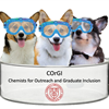 Chemists for Outreach and Graduate Inclusion's logo