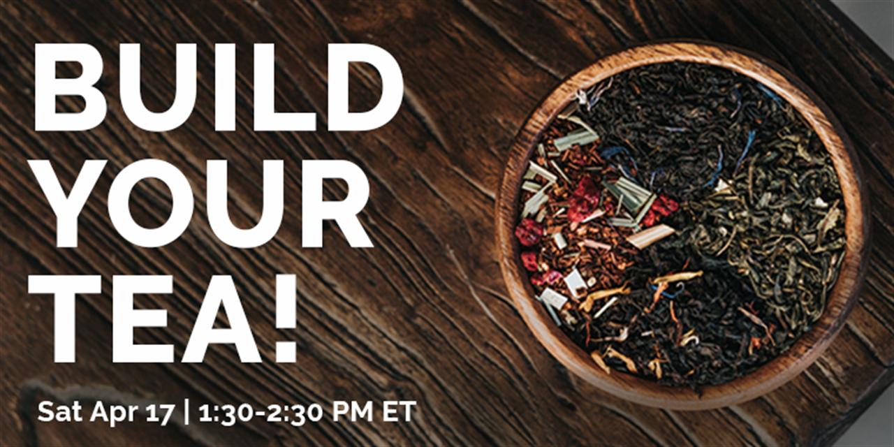 Build Your Tea! Event Logo