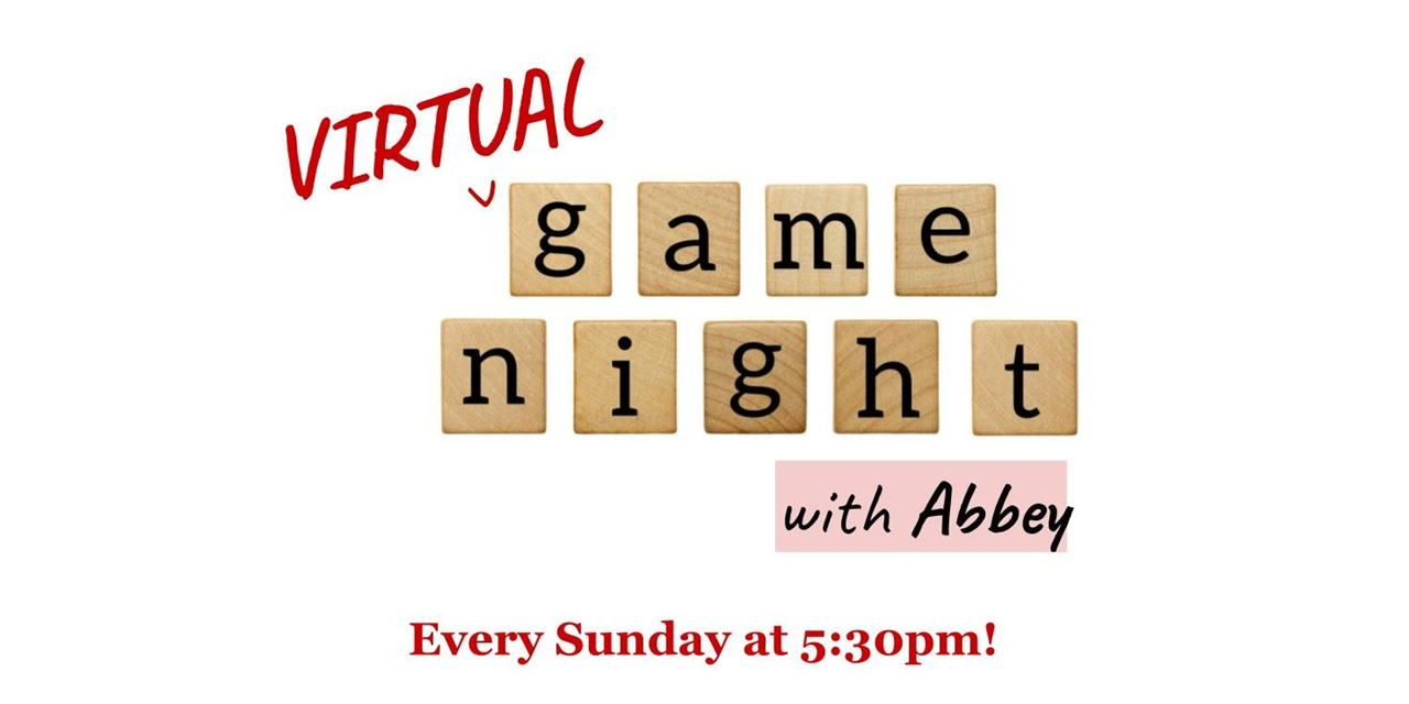 Virtual Game Night Event Logo