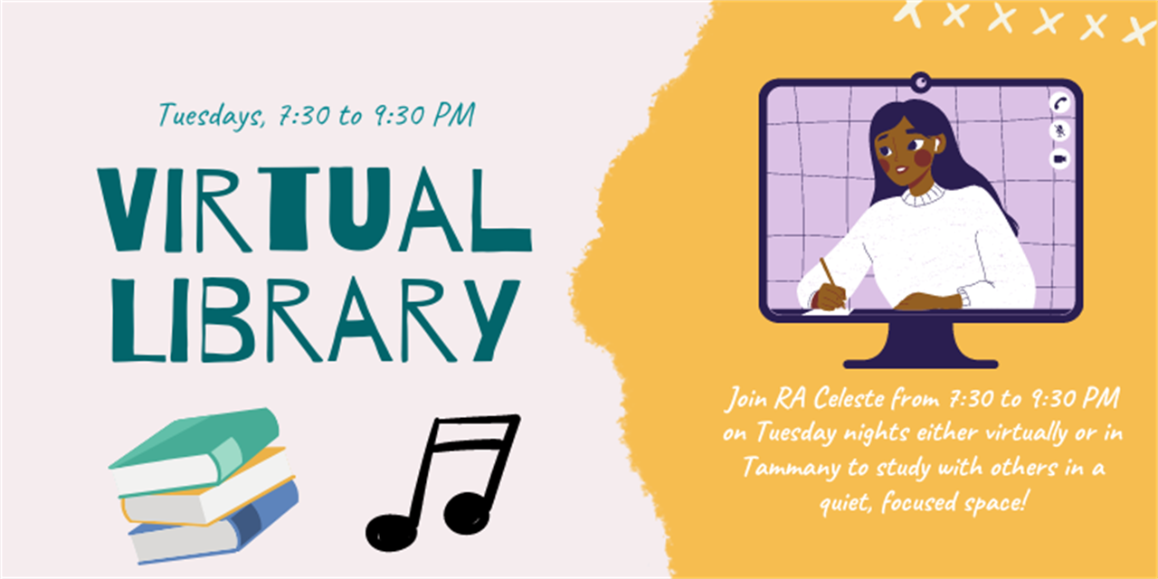 Virtual Library Event Logo