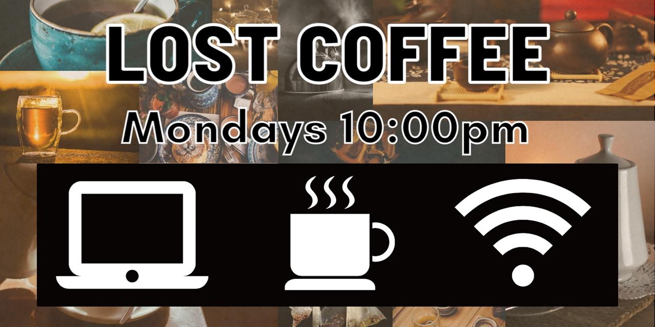 Lost Coffee Event Logo