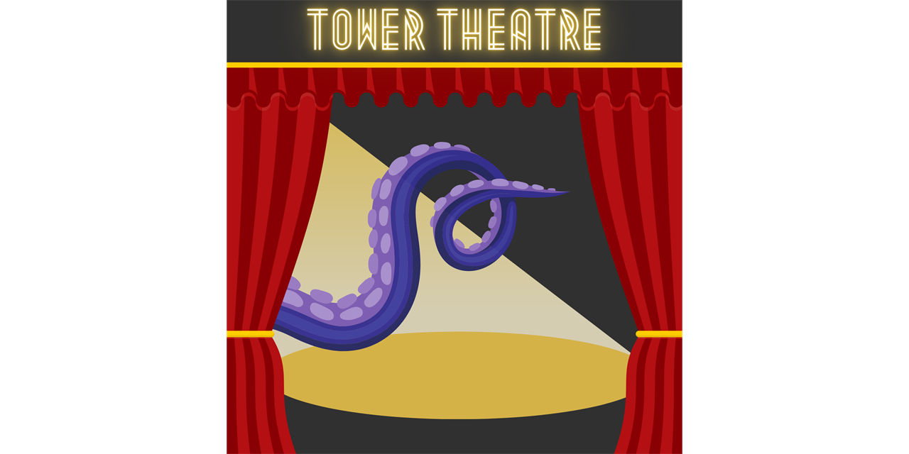 Tower Theatre: Squids on Broadway Event Logo