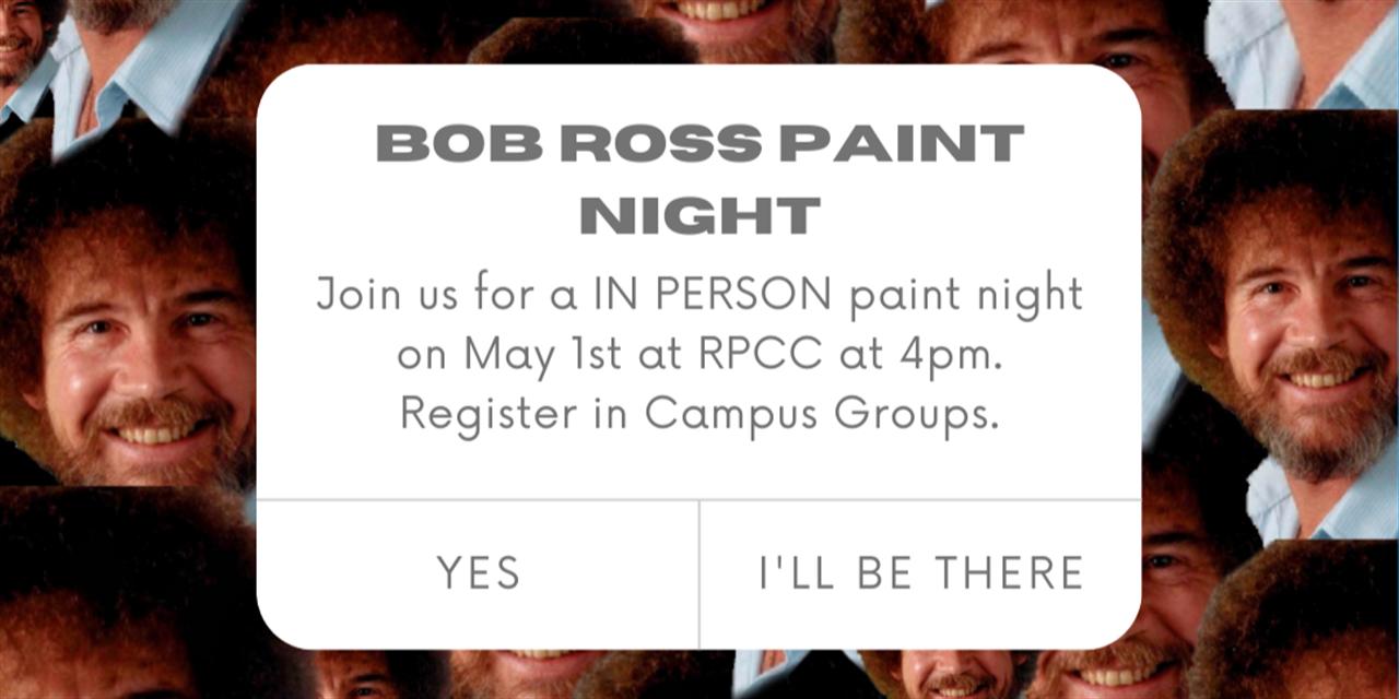Paint Night Event Logo