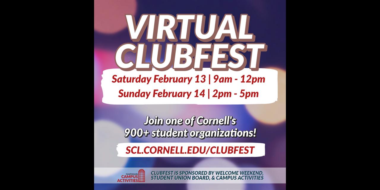 Virtual ClubFest Spring 2021! Event Logo