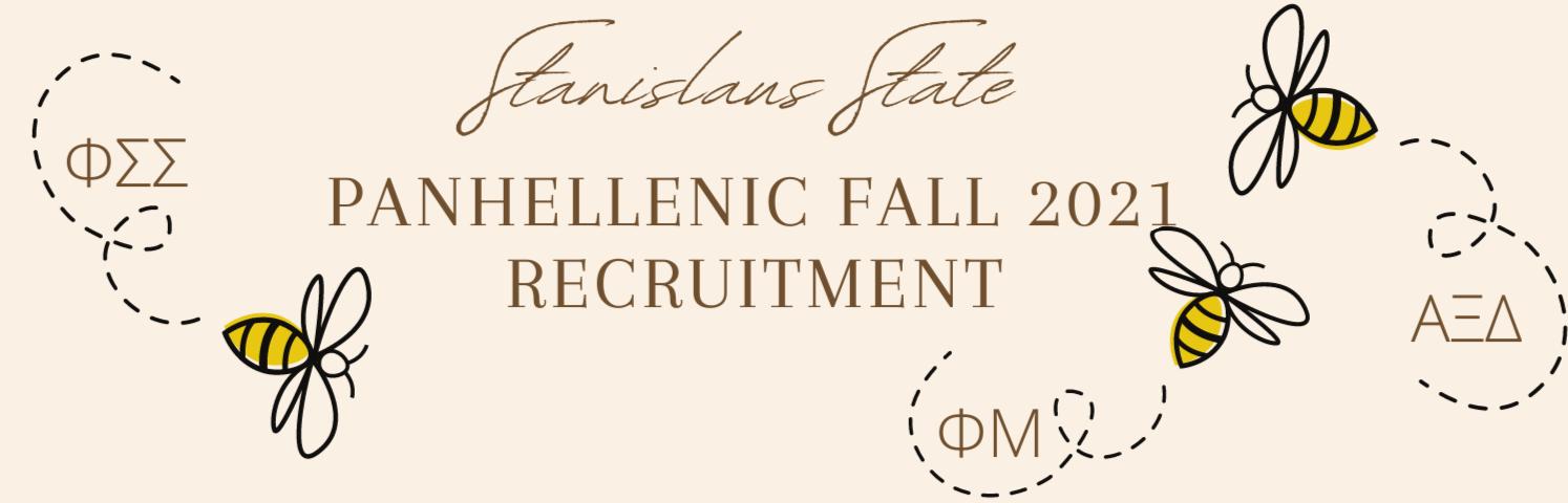 Panhellenic Fall 2021 Recruitment Weekend